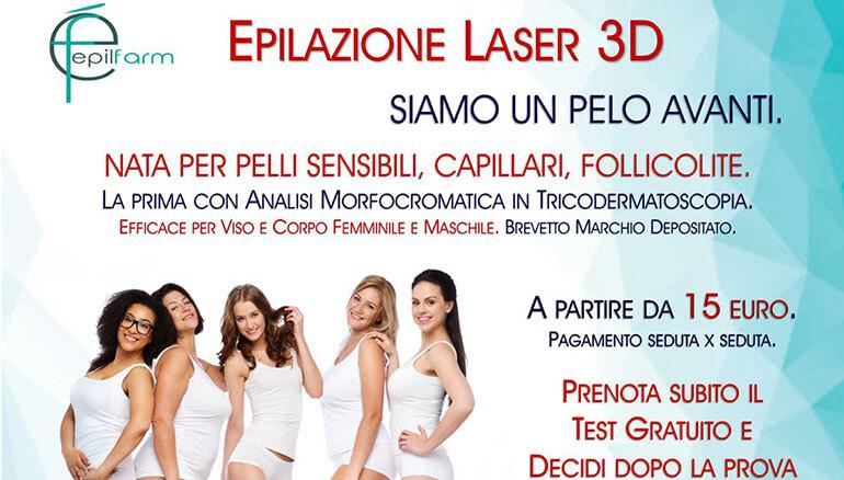 Epilazione laser 3D
